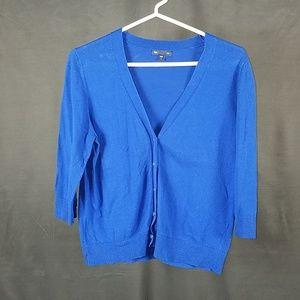 3 for $12- Medium royal blue Cardigan Gap